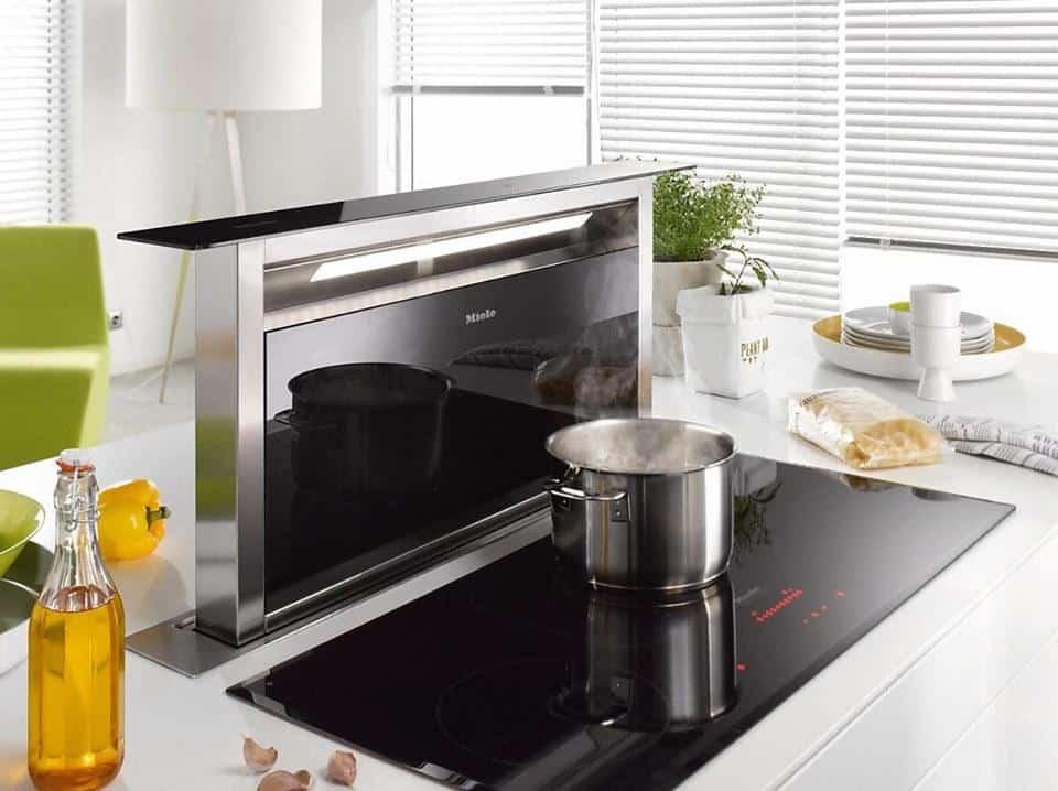 Tư vấn lắp đặt trọn gói thiết bị Nhà bếp gồm Hút mùi và bếp từ Meile cho Chị Huyền Hà Nội