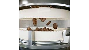 Cối chất liệu gốm bền bỉ của Máy pha cà phê Philips EP2221/40 series 2000